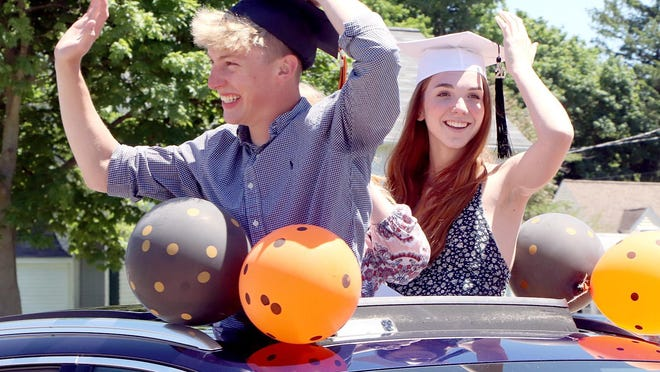 Seniors of Sturgis High School class of 2020 assembled in May for a parade in their honor, the first time since mid-March the majority of the graduating class had gathered, due to the COVID-19 pandemic. School districts faced unforeseen challenges in 2020, but educators remain optimistic for 2021 and beyond.