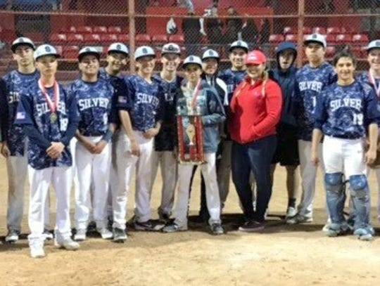 The Silver High baseball team captured the Indian Baseball