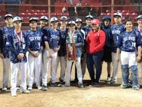 The Silver High baseball team captured the Indian Baseball Invitational championship after beating Jefferson in the semifinal round and Robertson in the championship.