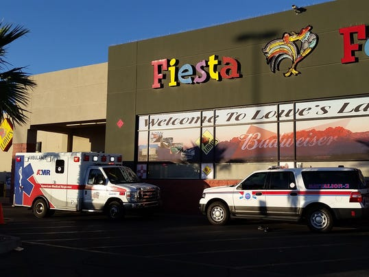 EMS response at Lowe's Fiesta Foods photo 2