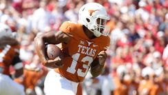 Texas' effective running attack against Oklahoma was