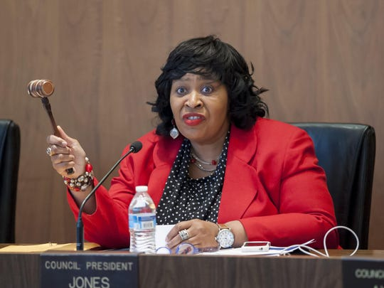 Detroit Council President Brenda Jones.