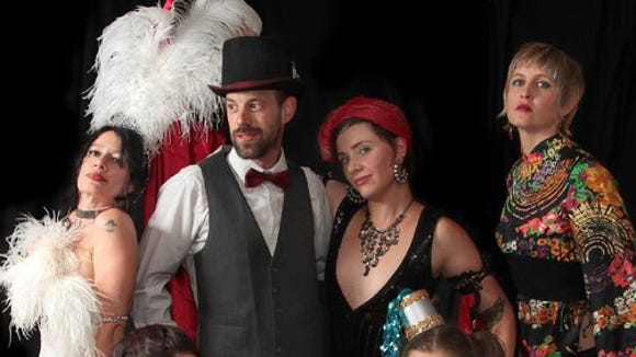 Burlesque troupe Whiskey Tango Sideshow