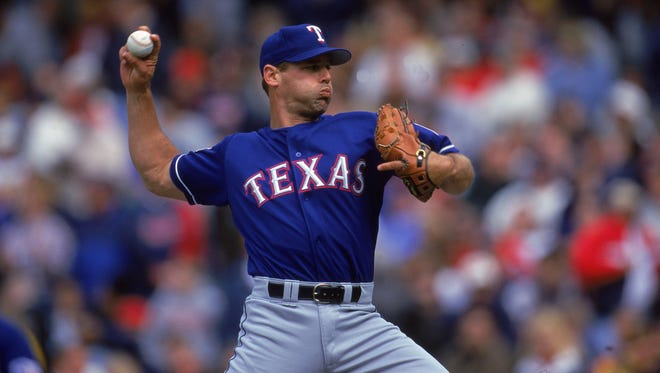 Former closer John Wetteland was arrested Monday on charges of sexual abuse of a child, according to records at the Denton County, Texas, jail.
