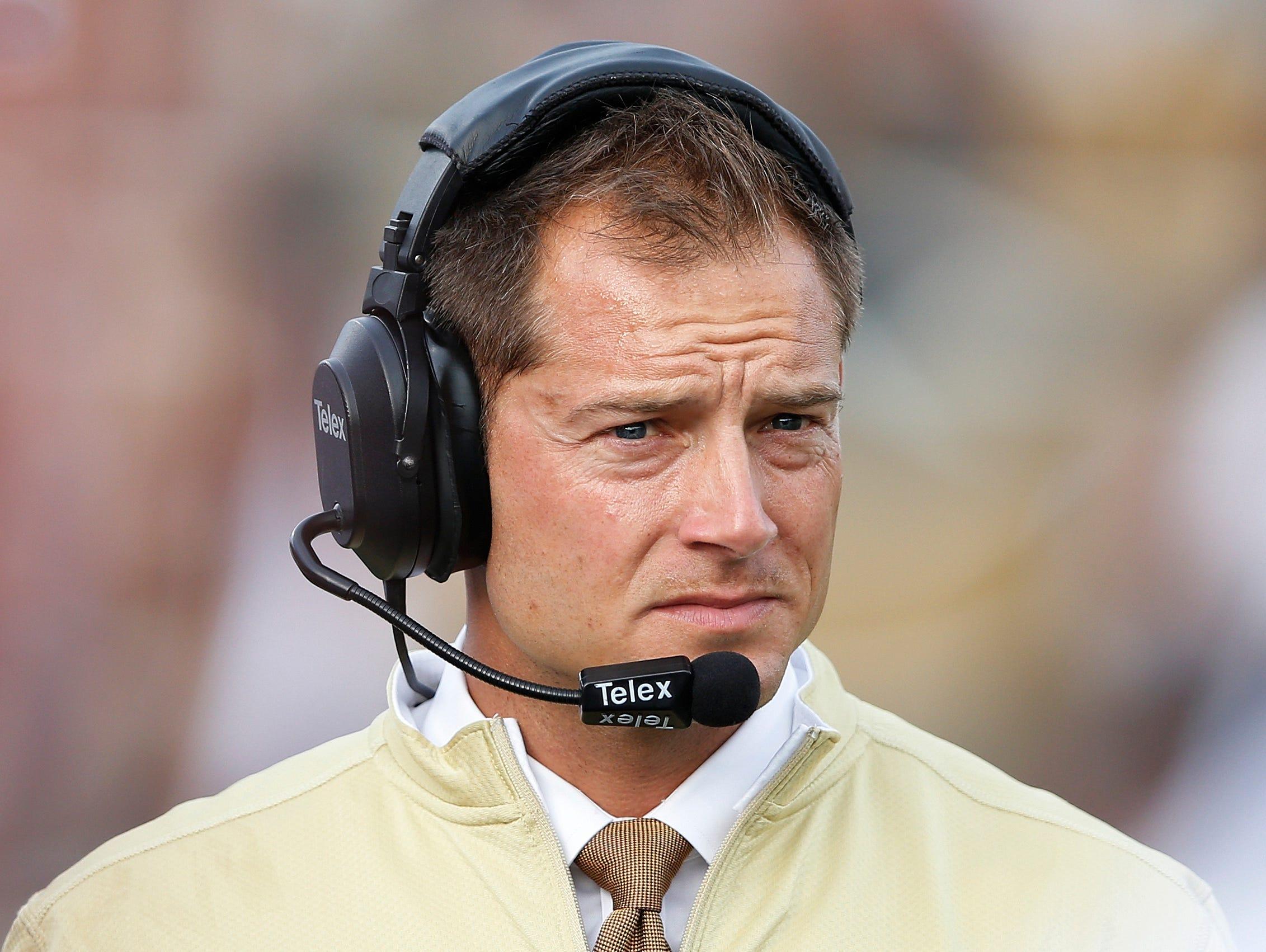 Western Michigan coach P.J. Fleck