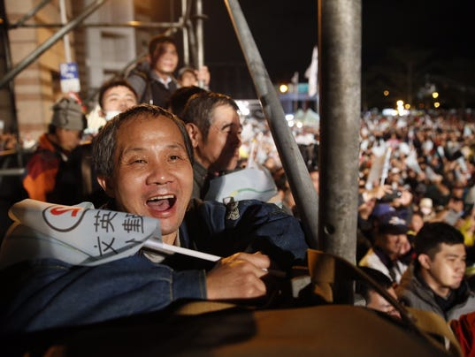 AP STF TAIWAN PRESIDENTIAL ELECTION I ELN TWN