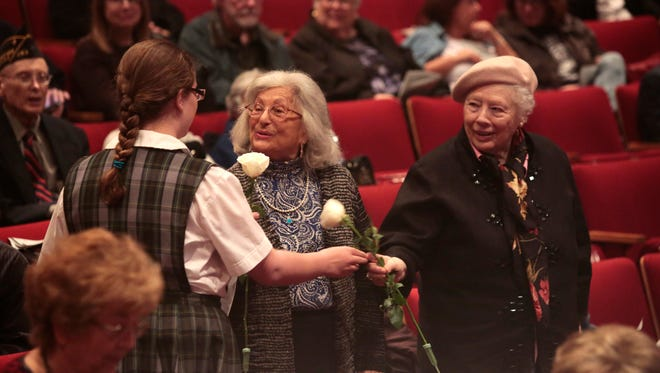 The Holocaust Museum and the Center for Tolerance and Education held its annual Yom HaShoah Commemoration at the Cultural Arts Center at Rockland Community College in Suffern on May 01, 2016.  The events remembers the victims and survivors of the Shoah.