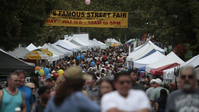 The Nyack Street Fair's Patriots Day Fair takes place Sept. 11.