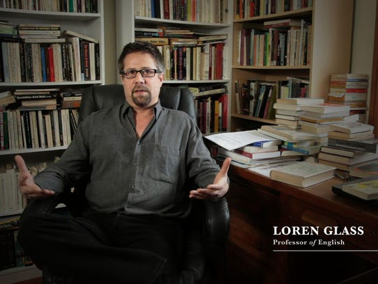 University of Iowa English Professor Loren Glass is