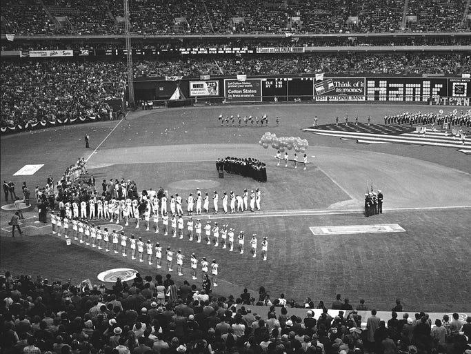 The Atlanta Braves' stadiums through the years