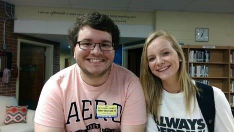 Nathanael Raymer and Abbi Douglas