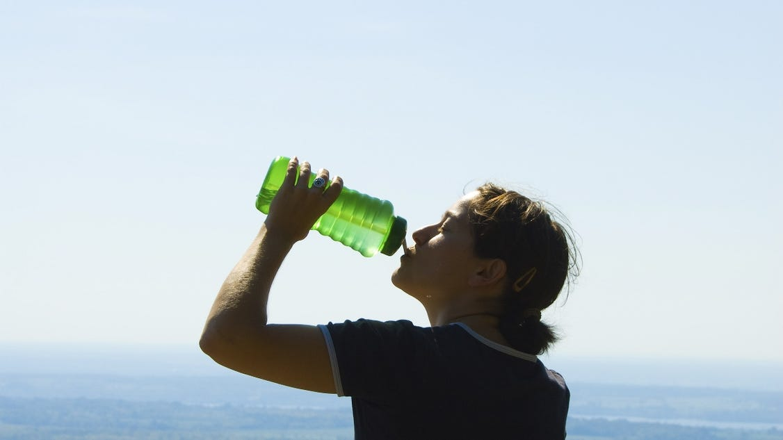 Tips on avoiding heatstroke and dehydration