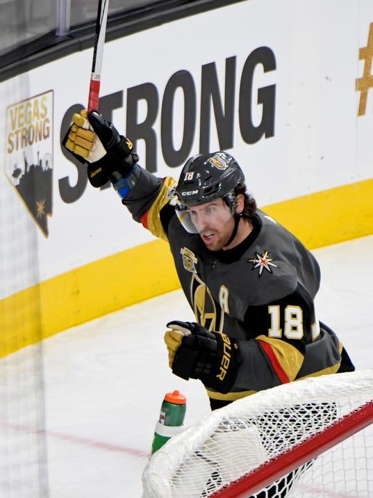 NHL: Arizona Coyotes at Vegas Golden Knights