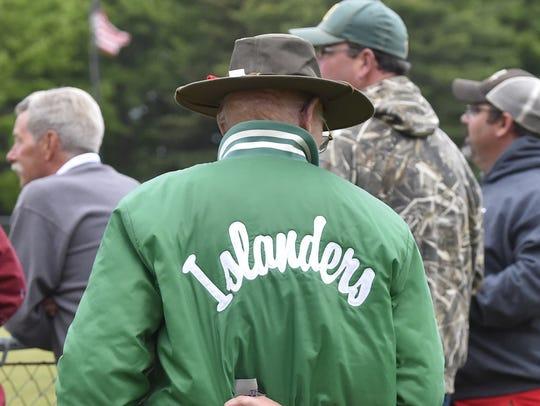 One of many Washington Island fans drawn to the sport