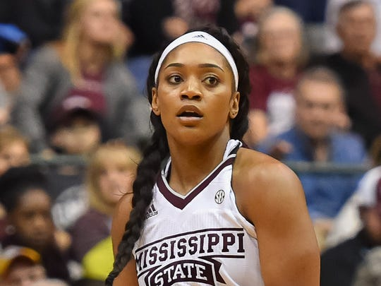 Mississippi State guard Victoria Vivians is Mississippi's all-time leading high school scorer.