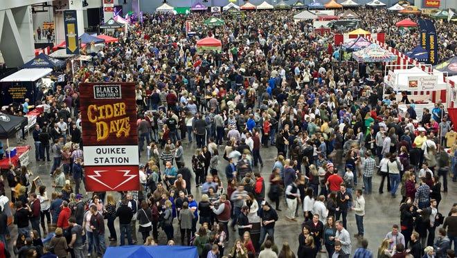 Cincy Winter Beerfest 2016.
