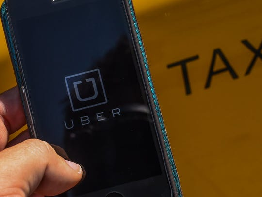 Uber's ride-hailing app was deleted by thousands of