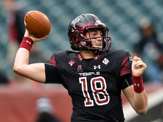 Temple quarterback Frank Nutile of Wayne (FILE PHOTO)