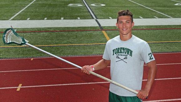 Brett Makar, who is the boys lacrosse player of the
