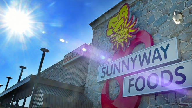 Sunnyway Foods is located at the intersection of Warm Spring Road and Lincoln Way West in Hamilton Township.