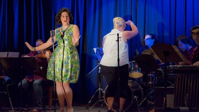 """Taylor Pawley (left as Patsy Cline) and Carolyn Johnson will reprise their roles in Keizer Homegrown Theatre's popular musical production of """"Always ... Patsy Cline"""" reopening Jan. 14 at the Kroc Center. The plot follows the true story of Cline's friendship with her devoted fan Louise Seger."""
