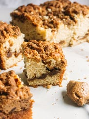 Cookie butter in coffeecake? Why ever not?