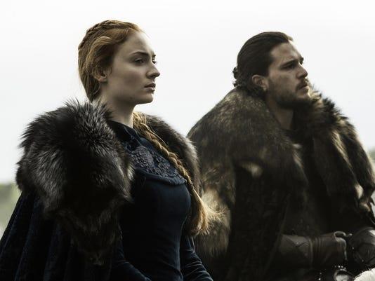 Game of Thrones Sophie Turner Kit Harington