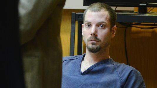 James VanCallis listens to testimony on Monday in Macomb County Circuit Court.