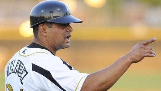 Alabama State baseball coach Mervyl Melendez was influential in Brian Jenkins leaving Bethune-Cookman to coach the Hornets.