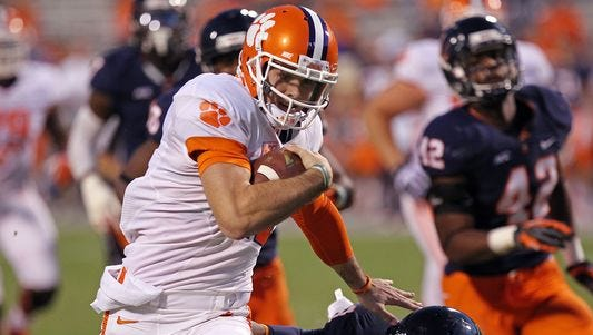 Former Clemson Tigers quarterback Chad Kelly was dismissed from the team earlier this season. He recently signed to play at Ole Miss for the 2015 season.