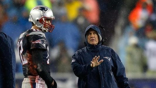 The tactics of New England coach Bill Belichick are under scrutiny again.