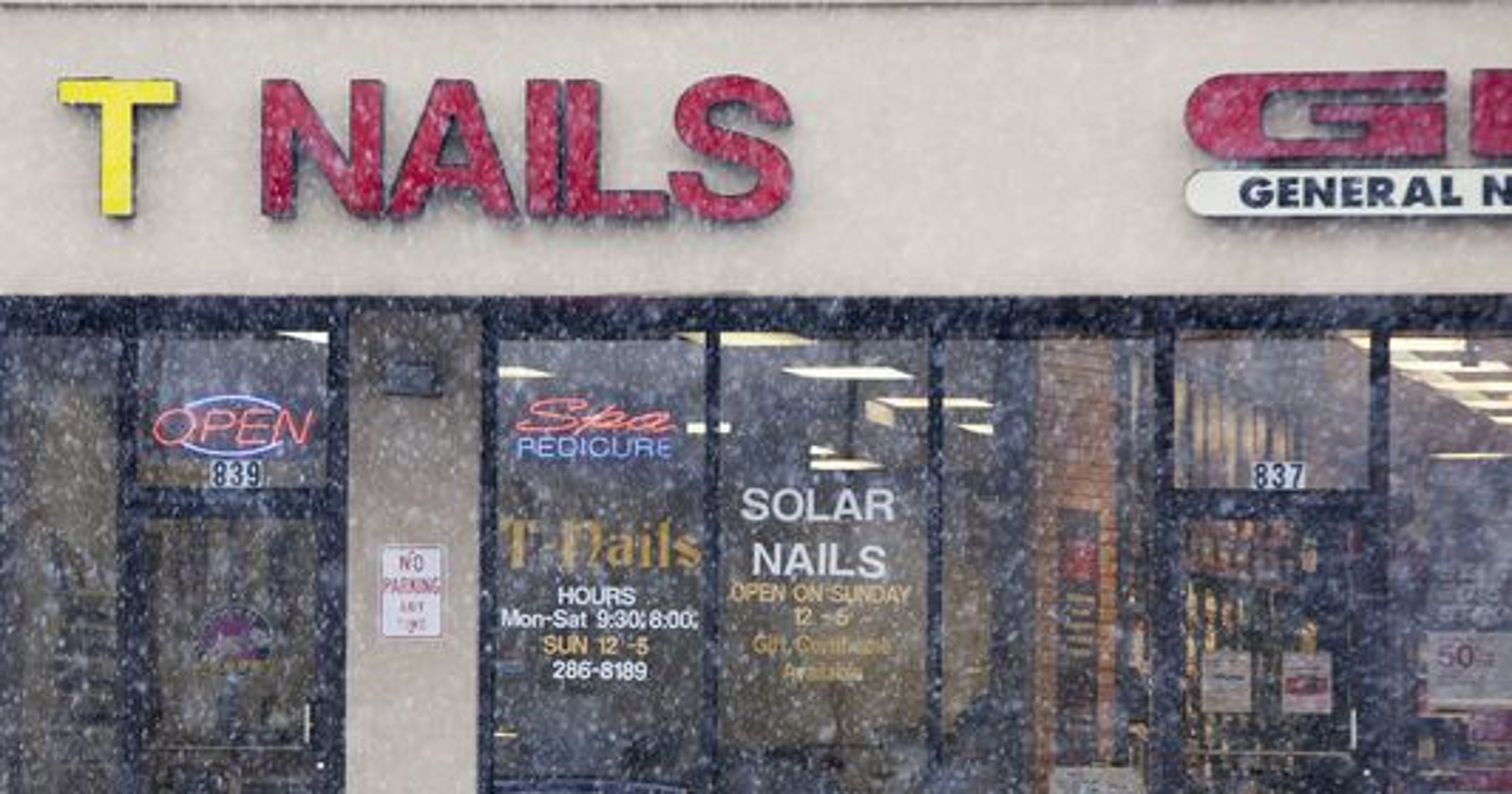 Nail salon sued over 'life-threatening' infection