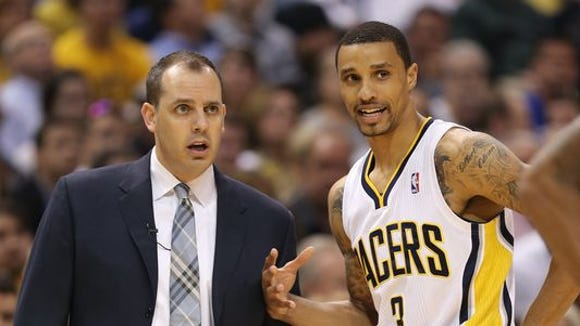 Pacers return to full strength tonight (without Paul George, of course) leading Vogel to believe that no trade deadline deal was the right move.