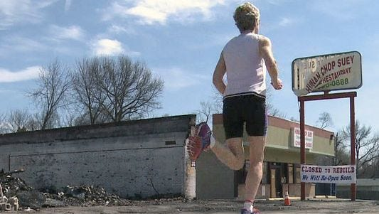 Grandma's toughest challenge isn't her 100th marathon.
