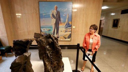 Art exhibit in State Capitol