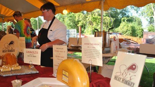 The 11th annual Taste of the Town will take place at 5 p.m. on Saturday at Pfiffner Pioneer Park.