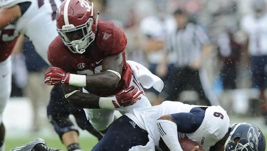 Alabama is looking for Rashaan Evans to make more of an impact on defense this season.