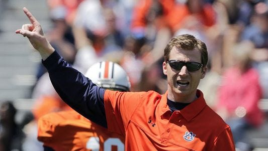 Auburn offensive coordinator Rhett Lashlee is confident Auburn's offense could be faster even with inexperienced skill position players.