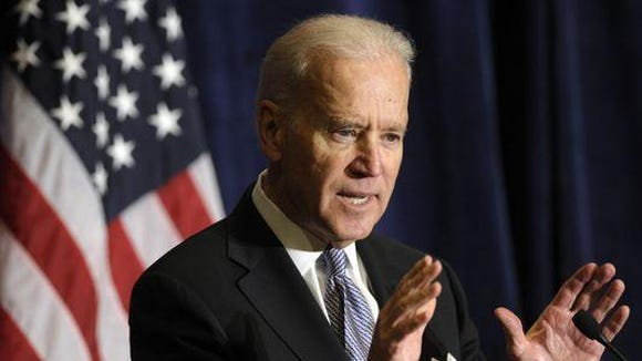 A poll released by Quinnipiac University found that Vice President Joe Biden  Biden tops Trump in Florida, Ohio, Pennsylvania.