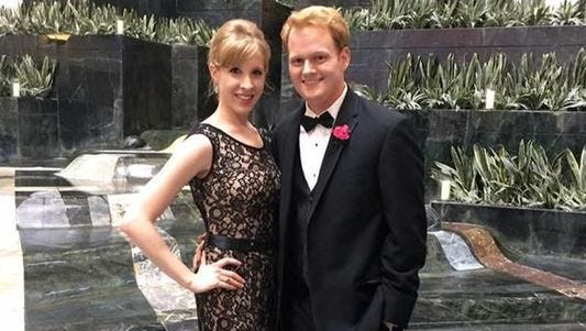 Photo of Alison Parker and Chris Hurst.