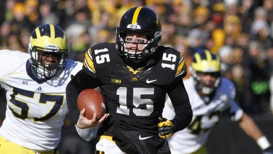 Jake Rudock didn't waste any time getting to work when he arrived on campus in May, taking a facilities job at Schembechler Hall.