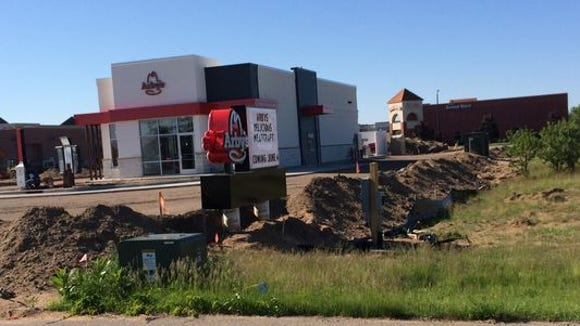 Arby's in Plover, shown here during its opening week in June at 1825 Plover Road, will hold a three-day grand opening celebration beginning Sept. 10.