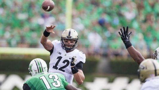 Purdue quarterback Austin Appleby