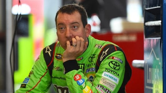 Kyle Busch missed 11 races after crashing into an unprotected wall at Daytona International Speedway in February.