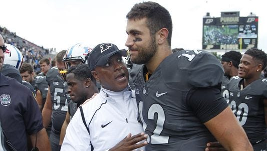 Darrell Hazell hopes backup QB Austin Appleby will be able to suit up Saturday -- just in case.