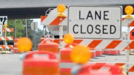 Lane closures started Wednesday for drivers crossing the Clark Street bridge in Stevens Point.