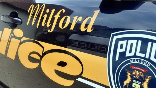 Milford police cited a Ferndale man for abuse of inhalants/chemical under a local ordinance after he was found huffing a can of compressed air.
