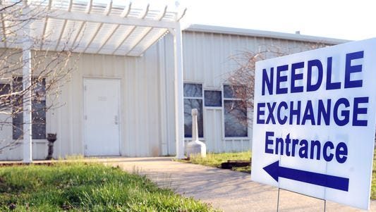 Indiana's health commissioner has approved needle-exchange programs in four counties -- the latest of which is Monroe County.