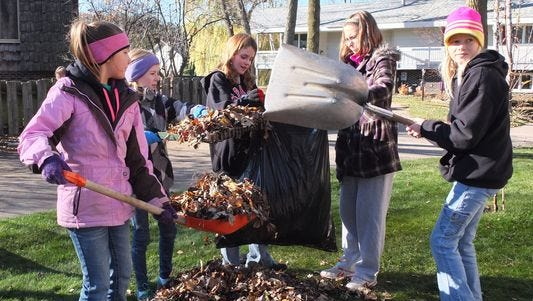Can you help rake 15 Stevens Point yards that weren't reached on Make A Difference Day?