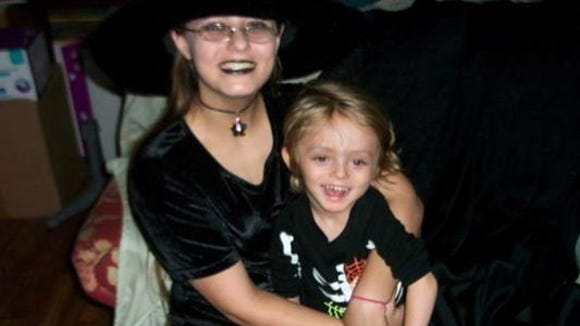 """Lola """"Tami"""" Griffith and son, Helious"""